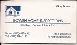 Brown Home Inspection
